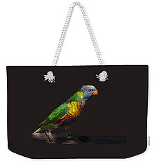 Pretty Bird Weekender Tote Bag