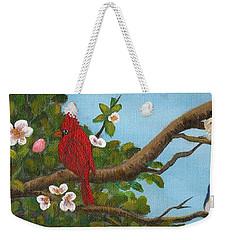 Pretty Birds Weekender Tote Bag