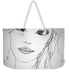 Pretty Eyes Weekender Tote Bag