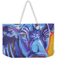 Pretty Face Cow Weekender Tote Bag