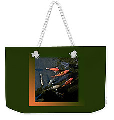 Pretty Fish Weekender Tote Bag