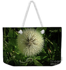 Pretty Fluffy Seedhead Weekender Tote Bag