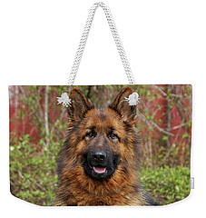Weekender Tote Bag featuring the photograph Pretty Girl Onja by Sandy Keeton