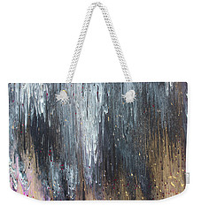 Pretty Hurts Weekender Tote Bag by Cyrionna The Cyerial Artist