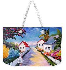 Pretty In Paradise Weekender Tote Bag