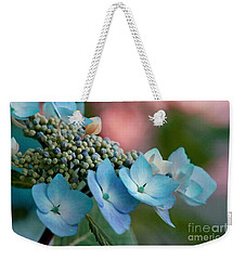 Pretty In Pink And Blue Weekender Tote Bag