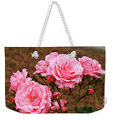 Pretty In Pink Weekender Tote Bag by Dennis Baswell