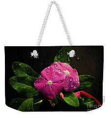 Weekender Tote Bag featuring the photograph Pretty In Pink by Douglas Stucky