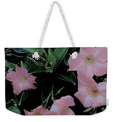 Pretty In Pink Flowers Weekender Tote Bag