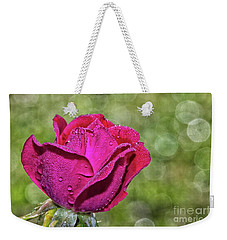 Pretty In Pink Weekender Tote Bag by Laurinda Bowling