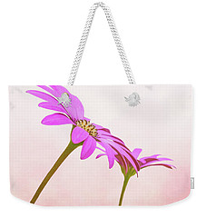 Weekender Tote Bag featuring the photograph Pretty In Pink by Roy McPeak