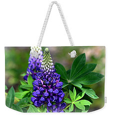 Pretty In Purple Weekender Tote Bag