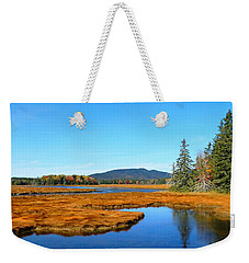 Pretty Marsh Weekender Tote Bag