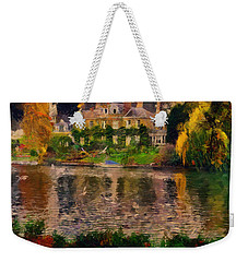 Pretty On The River Weekender Tote Bag