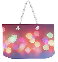 Pretty Pastels Abstract Weekender Tote Bag by Terry DeLuco