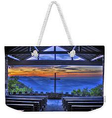 Pretty Place Chapel Sunrise 777  Weekender Tote Bag