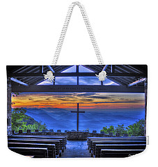 Pretty Place Chapel Sunrise 777  Weekender Tote Bag by Reid Callaway