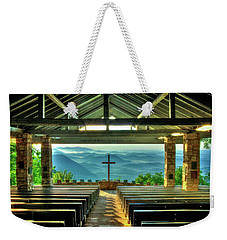 Pretty Place Chapel The Son Has Risen Weekender Tote Bag by Reid Callaway