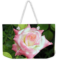 Pretty Rose Weekender Tote Bag by Ellen Tully