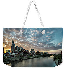 Pretty Sky And Nashville Skyline Weekender Tote Bag