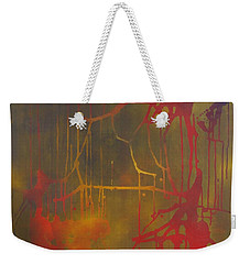 Pretty Violence On A Screen Door Weekender Tote Bag