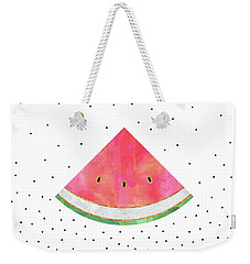 Pretty Watermelon Weekender Tote Bag by Elisabeth Fredriksson