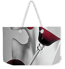 Weekender Tote Bag featuring the photograph Pretty Woman 3 by Elf Evans
