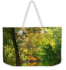 Prettyboy Of Autumn Weekender Tote Bag