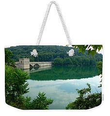 Prettyboy Reservoir Dam Weekender Tote Bag by Mark Dodd