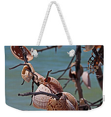 Weekender Tote Bag featuring the photograph Previously Loved Treasures by Michiale Schneider
