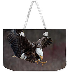 Prey Spotted Weekender Tote Bag by CR Courson