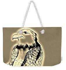 Preying Golden Eagle Weekender Tote Bag
