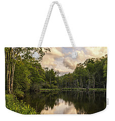 Price Lake Sunset - Blue Ridge Parkway Weekender Tote Bag