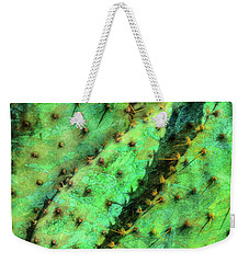 Weekender Tote Bag featuring the photograph Prickly by Paul Wear