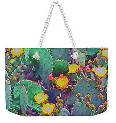 Prickly Pear Cactus 2 Weekender Tote Bag