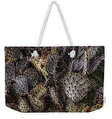 Prickly Pear Cactus At Tonto National Monument Weekender Tote Bag