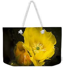 Prickly Pear Cactus Bloom Weekender Tote Bag