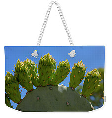 Prickly Pear Cactus Weekender Tote Bag