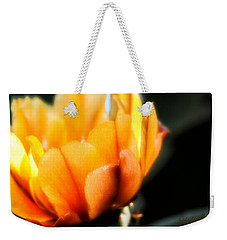 Prickly Pear Flower Weekender Tote Bag