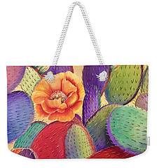 Prickly Rose Garden Weekender Tote Bag