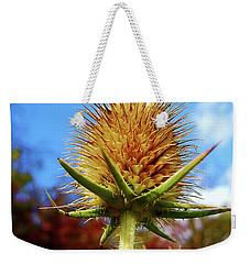 Prickly Thistle Weekender Tote Bag by Nina Ficur Feenan