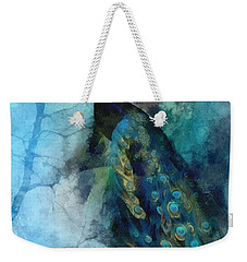 Weekender Tote Bag featuring the painting Pride by Mo T