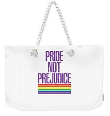 Pride Not Prejudice Weekender Tote Bag by Heidi Hermes