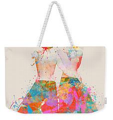 Weekender Tote Bag featuring the digital art Pride Not Prejudice by Nikki Marie Smith