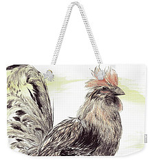 Pride Of A Rooster Weekender Tote Bag