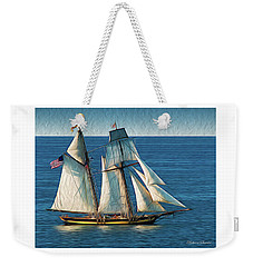 Pride Of Baltimore Weekender Tote Bag