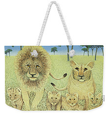 Pride Weekender Tote Bag by Pat Scott