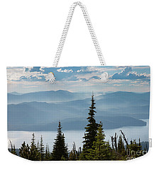 Priest Lake Blues Weekender Tote Bag