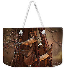 Primitive Arsenal Weekender Tote Bag by Kim Henderson