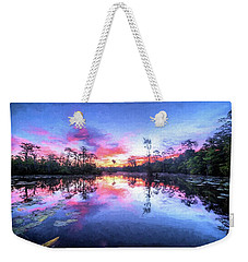 Primordial Sunrise Weekender Tote Bag by JC Findley